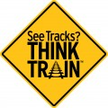 About every 3 hours, a person or vehicle is hit by a train.