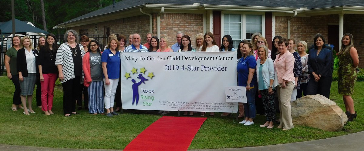 Lufkin/Angelina County Chamber of Commerce Hosted a Red Carpet Salute for Mary Jo Gordon Child Development Center:
