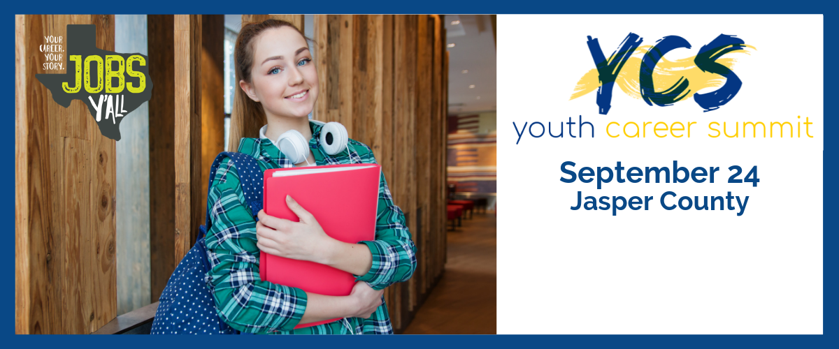: Click here for more information about the Youth Career Summit in Jasper County, September 24