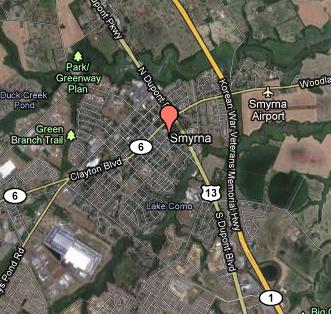 Smyrna Area Map