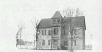The Maple Plain School, built about 1894