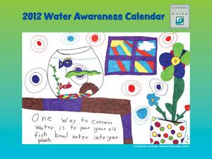 2012 Water Awareness Calendar cover