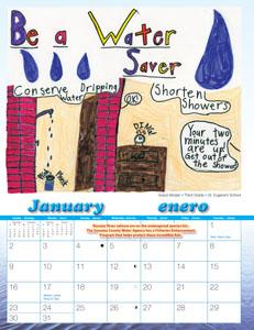 2011 Water Awareness Calendar cover