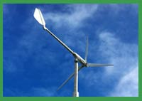 Wind Turbine - Geyserville Sanitation Zone