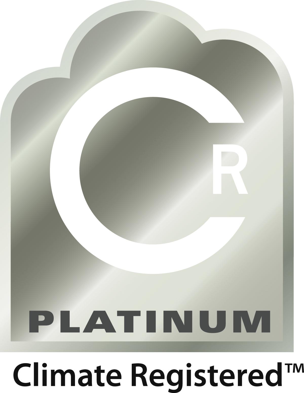 Climate Registered Platinum Award