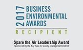 2017 Acterra Spare the Air Leadership Award