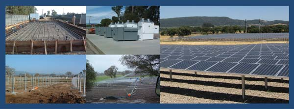 Sonoma Valley Wastewater Treatment Plant Photovoltaic Systems