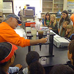 Fifth Grade Wastewater Treatment Plant Field Trip (Sonoma Valley)