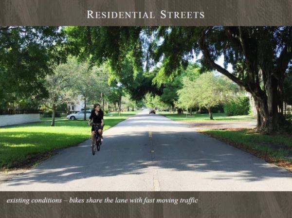 Residential Streets Existing Conditions