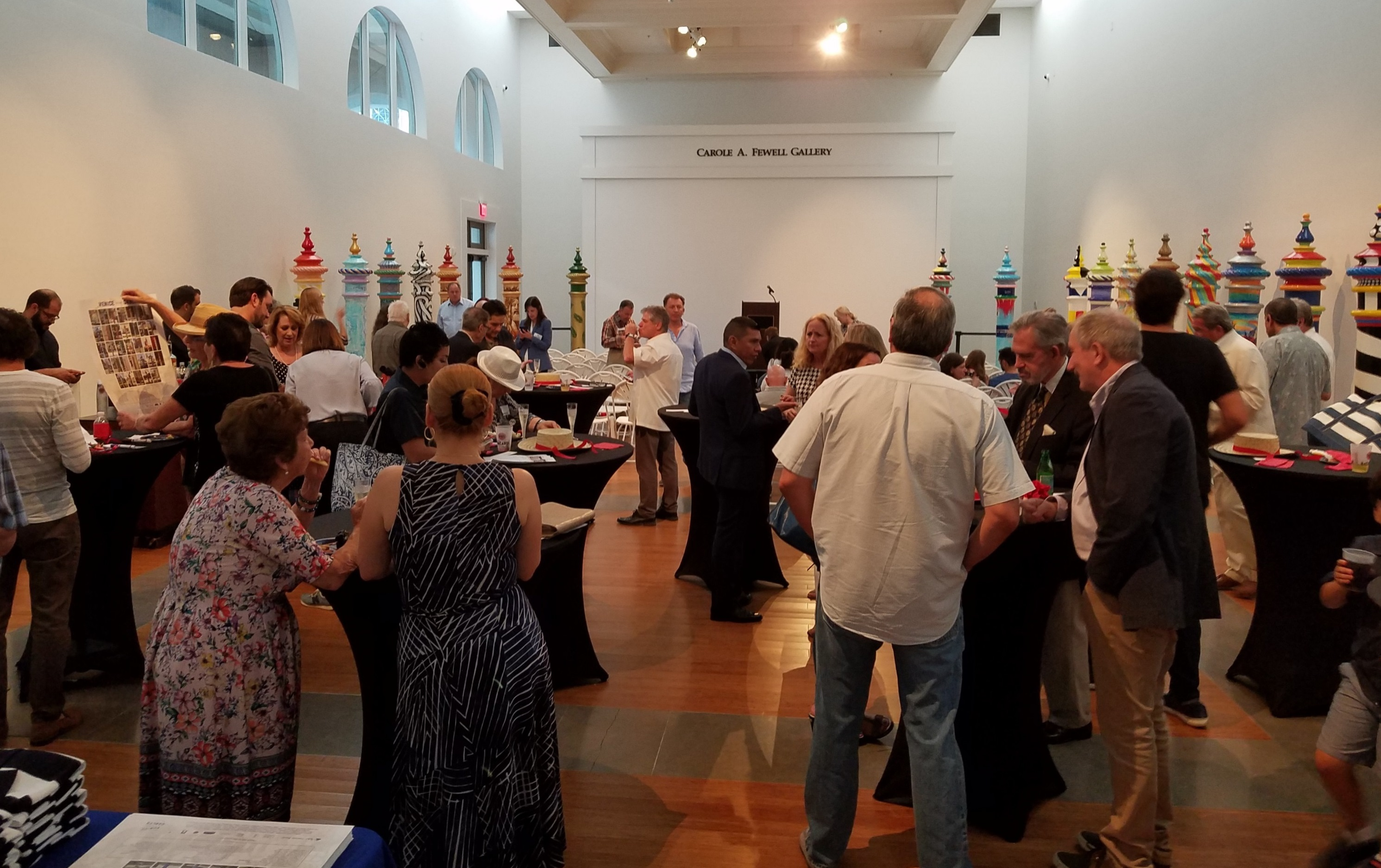 Venice in the Gables Closing Event. Image courtesy of George Rodez