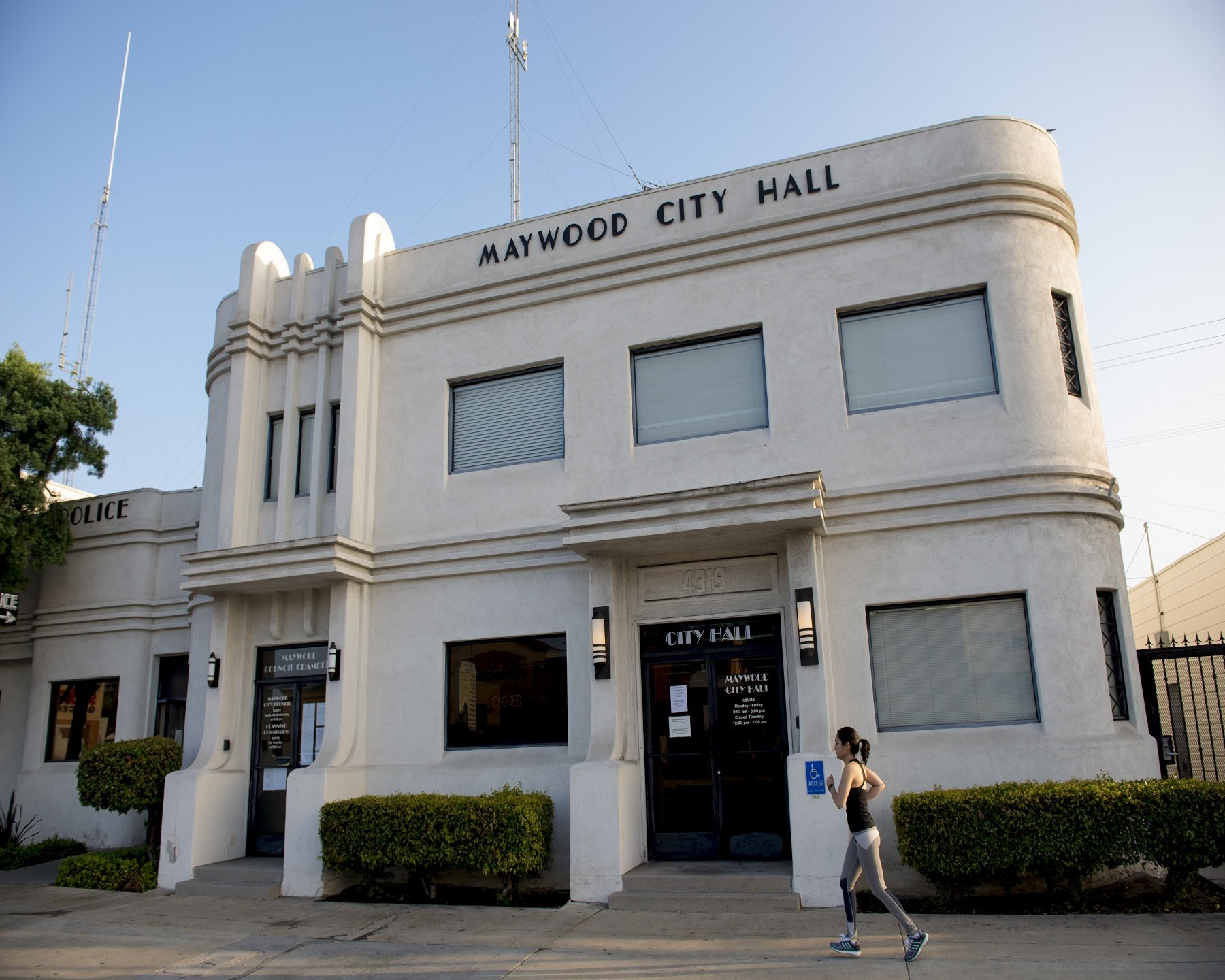 official website of the city of maywood  california