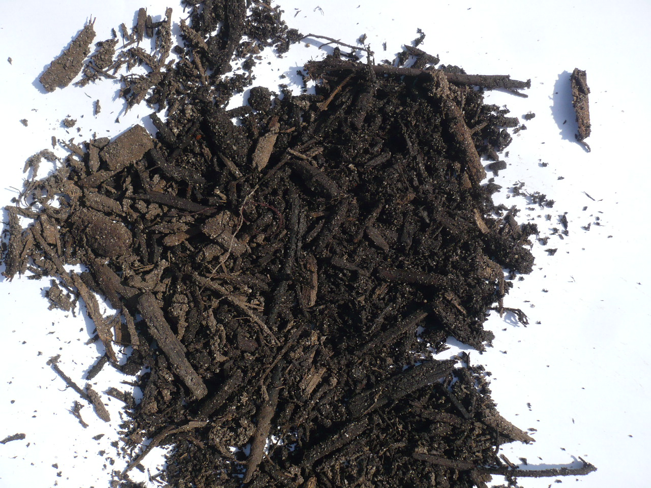 Root Mulch Close Up