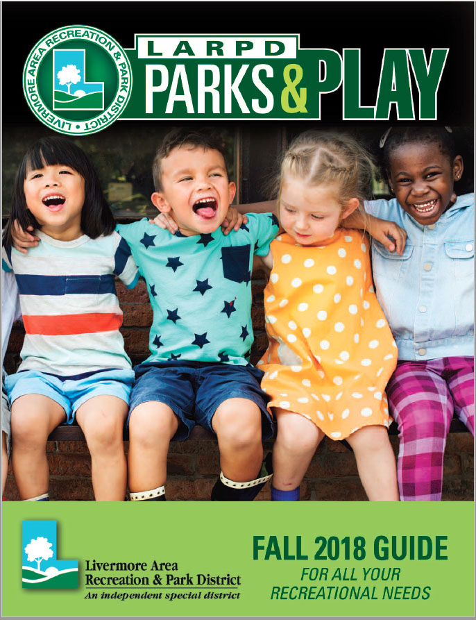 LARPD Fall 2018 Guide Cover
