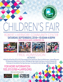 2018 LARPD Childrens Fair Flyer