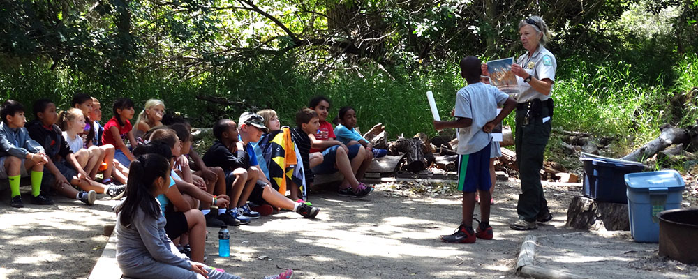 Summer Nature Camps at LARPD