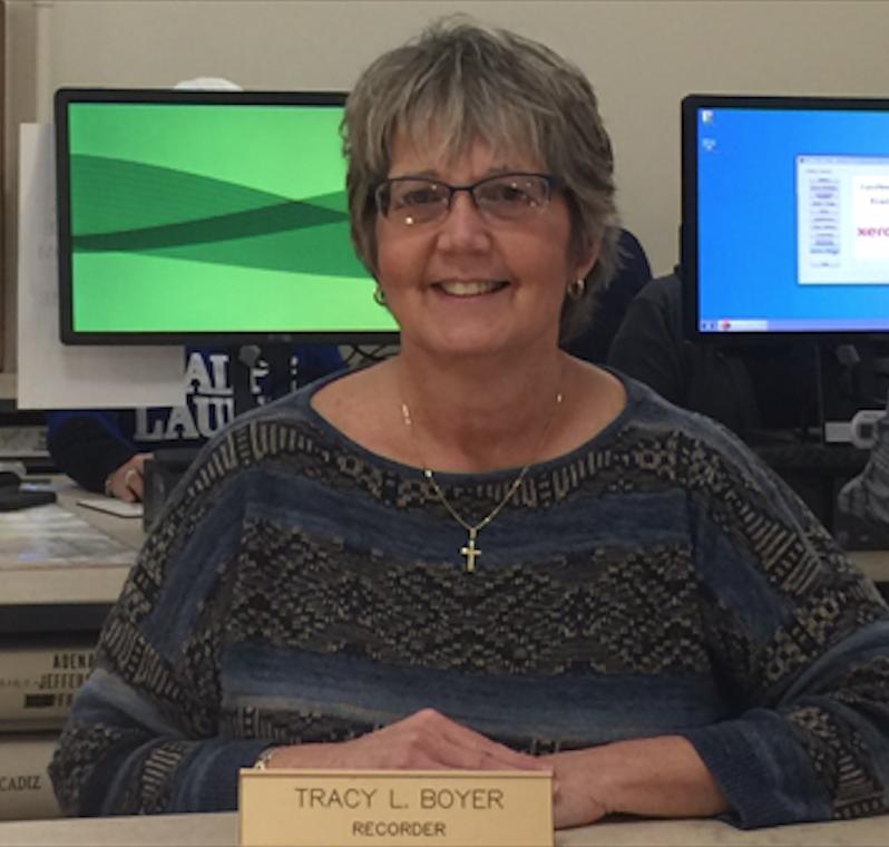 Tracy Boyer, Recorder.jpg