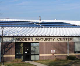 Modern Maturity Solar Thermal System