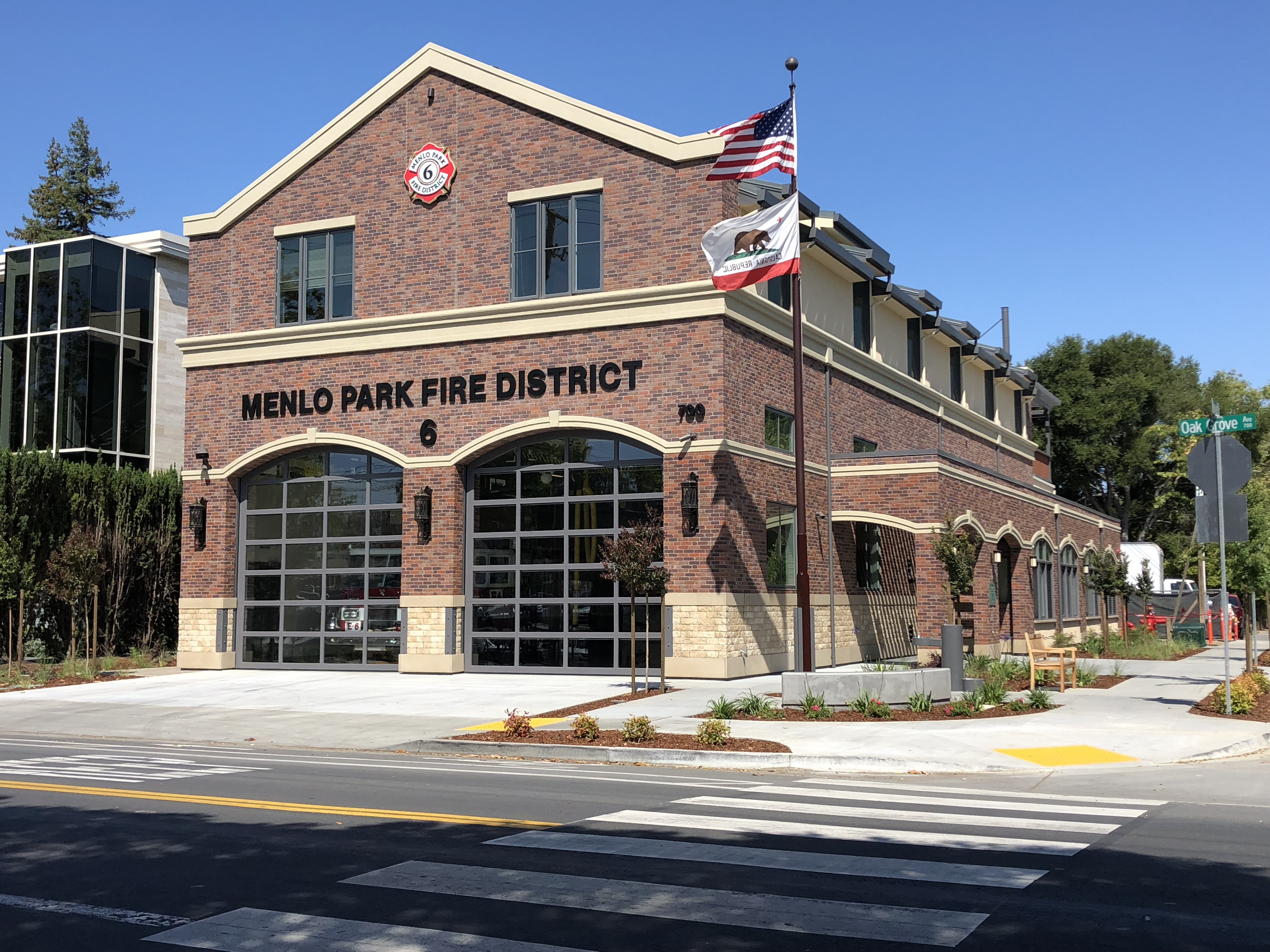 Menlo Park Fire District - Viewing Facility: Station 6