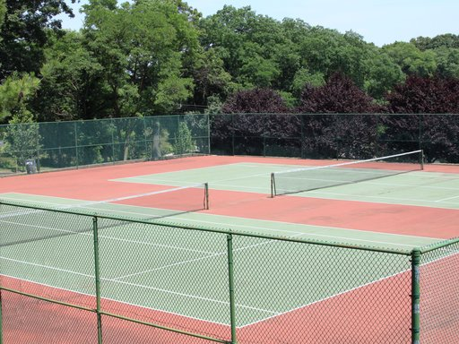 Two Tennis Courts: