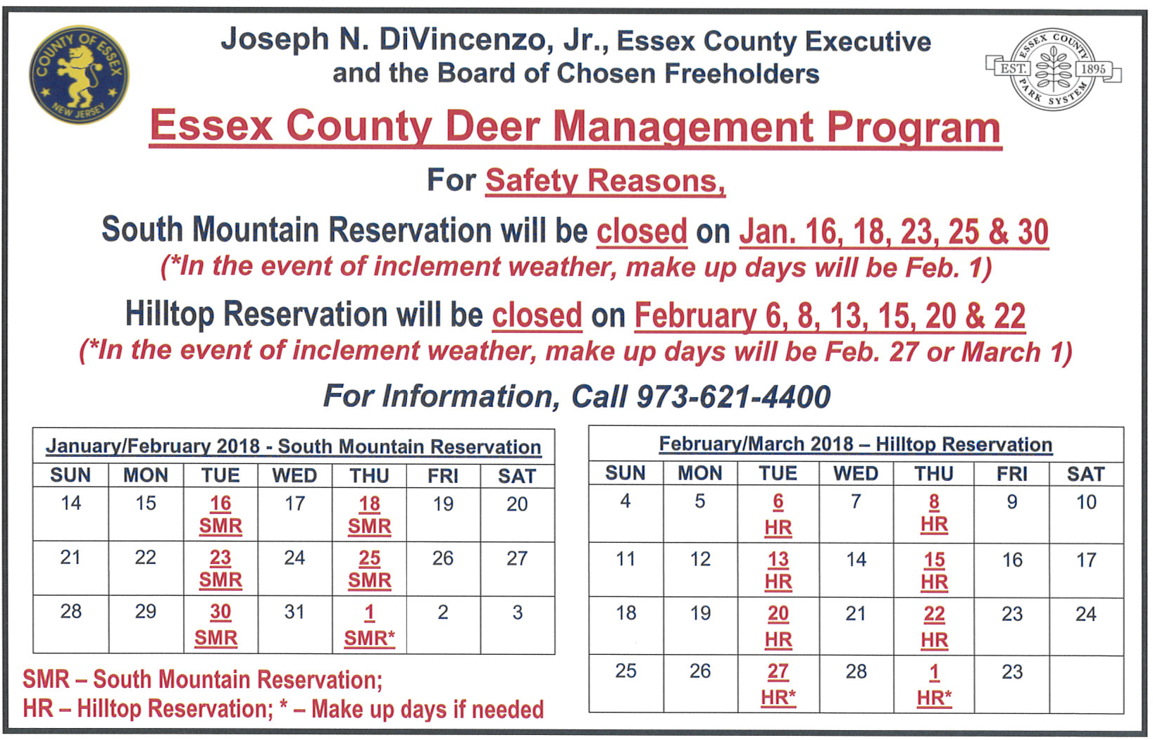 The township of verona new jersey county deer management program deer management 2017page1g 1betcityfo Images