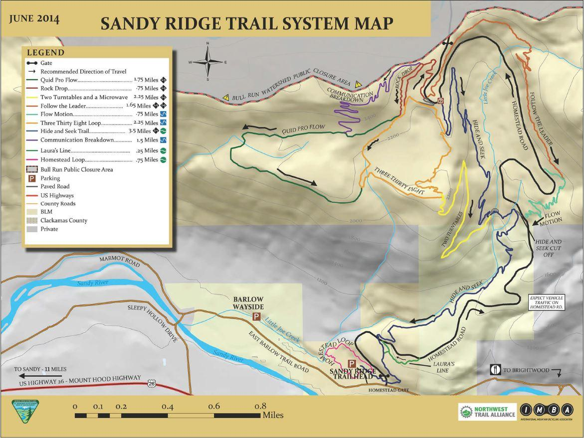 Official Website For The City Of Sandy Oregon Where To Ride In